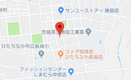 ひたちなか東海本部 地図